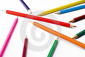 Colorful Pencils Stock Photo - Image: 5213840