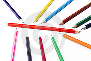 Colorful Pencils Royalty Free Stock Photography - Image: 5213847