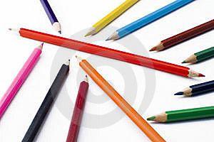 Colorful Pencils Royalty Free Stock Images - Image: 5213849