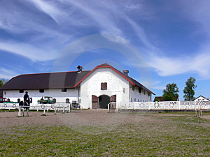 Horses' Stud Farm Stock Photo - Image: 5215760