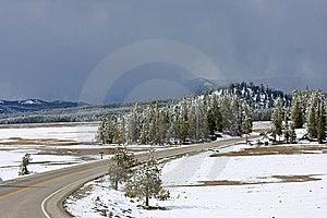 Montana Road Stock Image - Image: 5219121