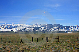 Montana Landscape Royalty Free Stock Photos - Image: 5219178