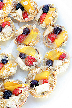 Fruit Tarlet Cake Stock Photography - Image: 5222422