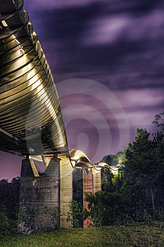 Brug In Singapore: Henderson Waves Stock Foto's - Beeld: 5222493