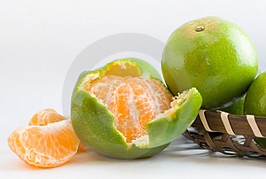 Peeled Honey Mandarin Oranges Stock Image - Image: 5226781