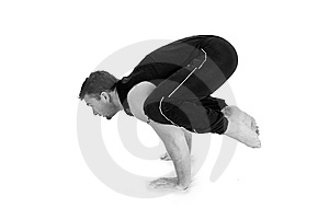 Yoga Series Stock Image