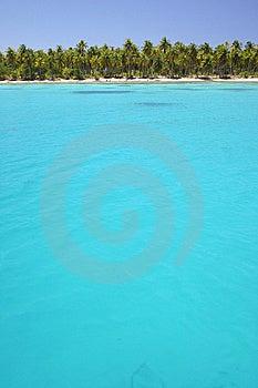 Laguna Rangiroa Imagen de archivo libre de regalías - Imagen: 5233206