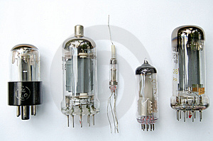 Radio Tubes Stock Photo - Image: 5236600