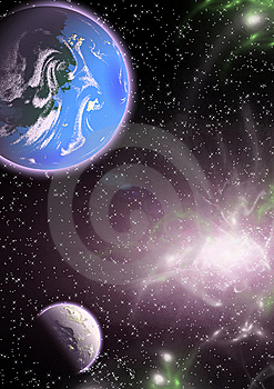 Planets In A Space. Stock Photos - Image: 5239633