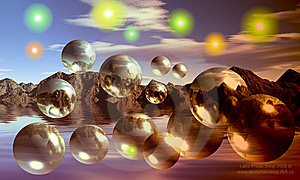 Bubbles And Things Royalty Free Stock Photos - Image: 5244228