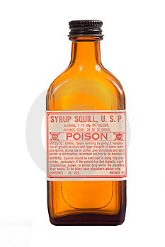 Antique Brown Prescription Bottle Royalty Free Stock Photography - Image: 5247837