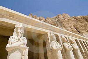 Al-deir Al-bahari Temple Stock Image - Image: 5248331