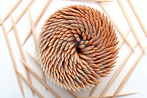 Wooden Toothpicks Stock Image - Image: 5248361