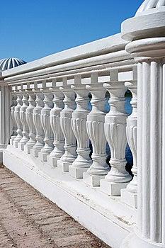 White Colums Royalty Free Stock Image - Image: 5254336