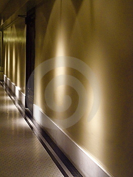 Quiet Hallway Royalty Free Stock Photography - Image: 5254377