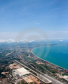 Airport And Sea Stock Photo - Image: 5255880