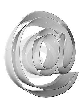 Symbol 3D 009 Grey Royalty Free Stock Photos - Image: 5256218