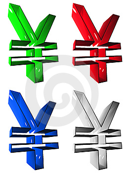 Symbol 3D Group Stock Image - Image: 5256341