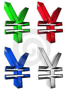 Symbol 3D Group Stock Image - Image: 5256341