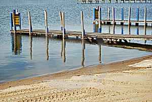 Boat Ramps Stock Photo - Image: 5256870