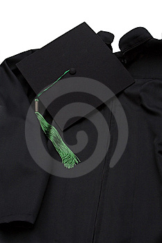 Graduation robe Stock Photos