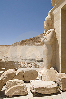 Al-deir Al-bahari Temple Stock Photography - Image: 5260592