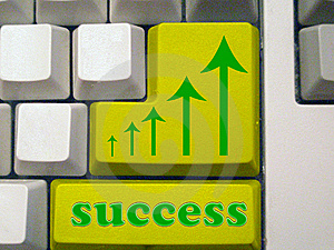 Success - Arrows Royalty Free Stock Image - Image: 5264786