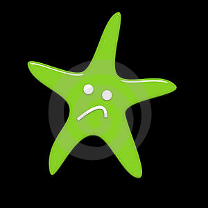 Sad Starfish Stock Images - Image: 5265054