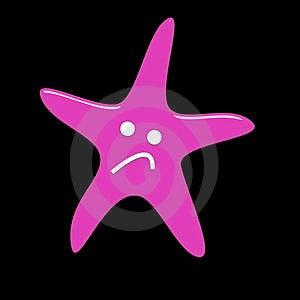Sad Starfish Stock Photos - Image: 5265083