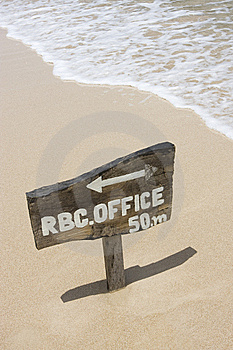 Wooden Sign Stock Photo - Image: 5268380