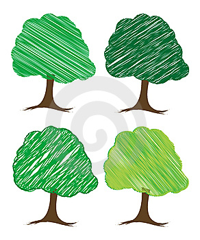 Vector Tree Design Stock Photography - Image: 5273232
