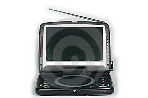 Portable Dvd Player Royalty Free Stock Photos - Image: 5274858