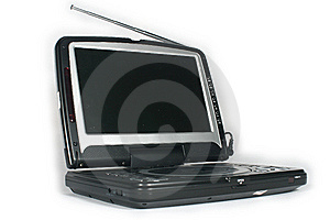 Portable Dvd Player Royalty Free Stock Images - Image: 5274879