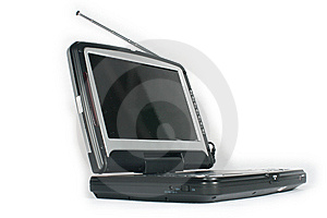 Portable Dvd Player Royalty Free Stock Photos - Image: 5274898