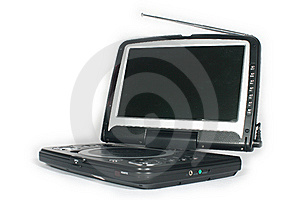 Portable Dvd Player Royalty Free Stock Image - Image: 5274926
