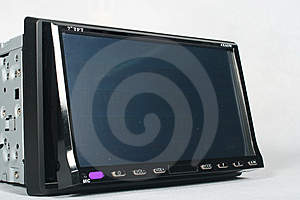 Car Monitor Royalty Free Stock Image - Image: 5274966