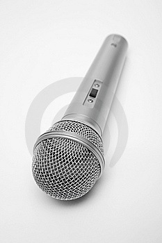 New And Metal Microphone Stock Photos - Image: 5277793