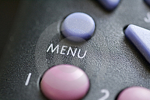 Menu Button Royalty Free Stock Images - Image: 5284199