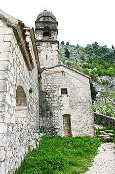 Military Defensive Fortress In Kotor Stock Photography - Image: 5285722