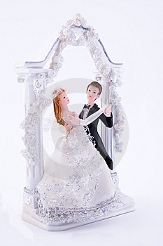 Wedding Statue Royalty Free Stock Photography - Image: 5286687