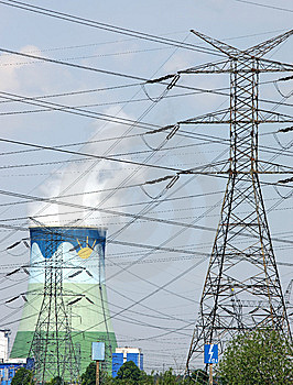 High-tension Line Stock Image - Image: 5291131