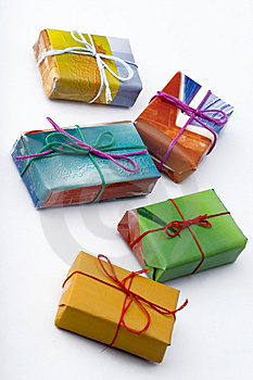 Christmas Presents Stock Photo - Image: 5292520