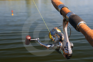 Spinning And Lake Stock Images - Image: 5293544