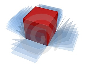Box Wrap Royalty Free Stock Photos - Image: 5294538