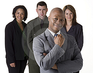 Confident Business Team Free Stock Photos