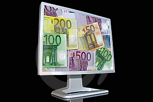 Monitor LCD Royalty Free Stock Photo - Image: 5298075