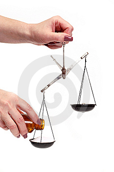 Pharmaceutical Scales Stock Photography - Image: 5299972