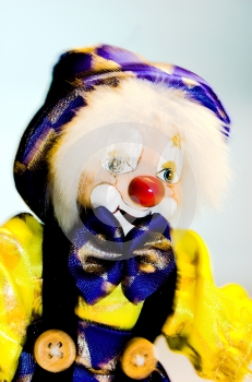 Clown Toy Stock Photo - Image: 538340