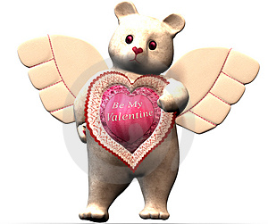 Valentine Bear Stock Photography - Image: 538582