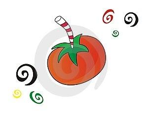 Crazy Tomato Juice Stock Photos - Image: 5301733